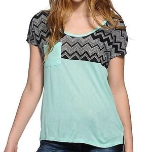 *3 for $15* EMPYRE ABBOTT CHEVRON BLOCK T-SHIRT